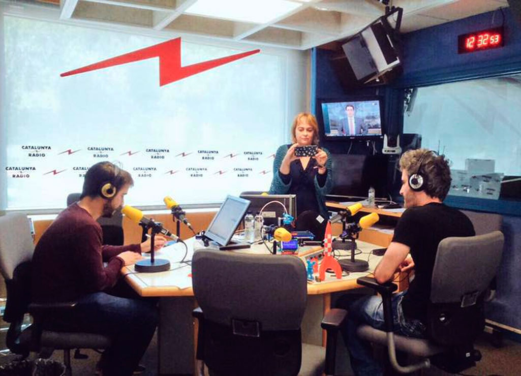 Entrevista en Catalunya Ràdio