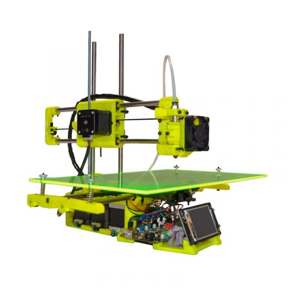 impresora 3d formbytes one amarilla