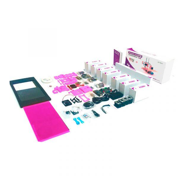 piezas formbytes one kit rosa