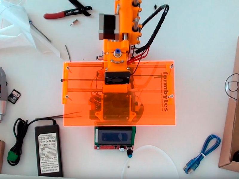 montaje impresora 3d formbytes one